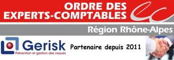 Logo gerisk partenaire conseil de l'ordre
