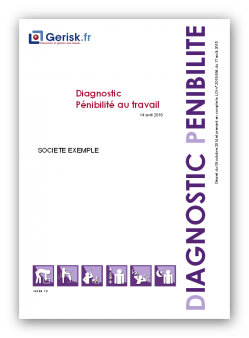Diagnostic pénibilité exemple