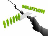 Solution detouree