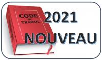 Code du travail 2021 nouveau