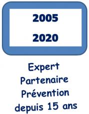 Expert partenaire prevention depuis 15 ans